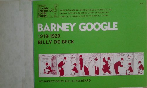 9780883556313: Barney Google: A Complete Compilation, 1919-1920 (The Hyperion library of classic American comic strips)