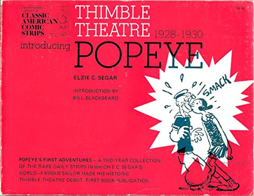 Thimble Theatre Introducing Popeye