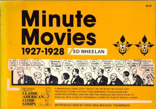 9780883556702: Minute movies : a complete compilation, 1927-1928