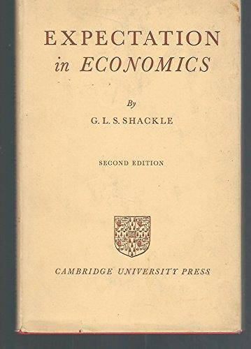 9780883558164: Expectations in Economics