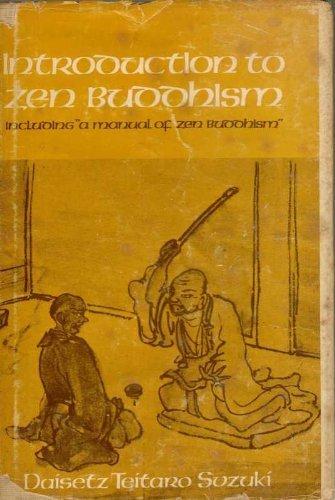 "Introduction to Zen Buddhism, including ""A manual: Suzuki, Daisetz Teitaro"