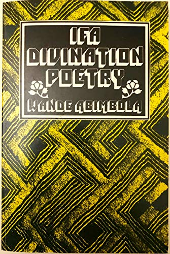 9780883570470: Ifa divination poetry (Traditional African literature)