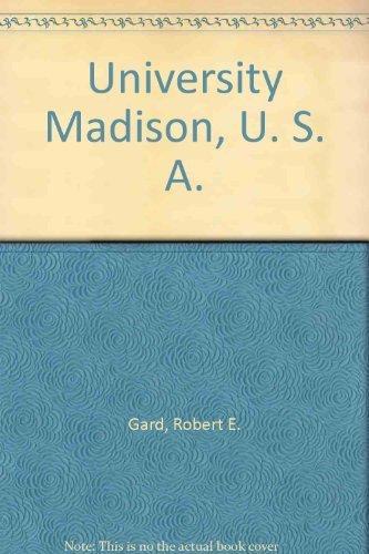 9780883610091: University Madison, U. S. A.