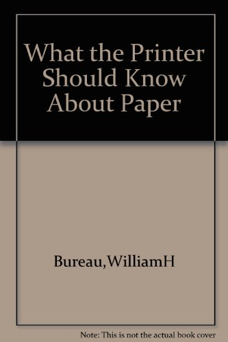 9780883621196: What the printer should know about paper