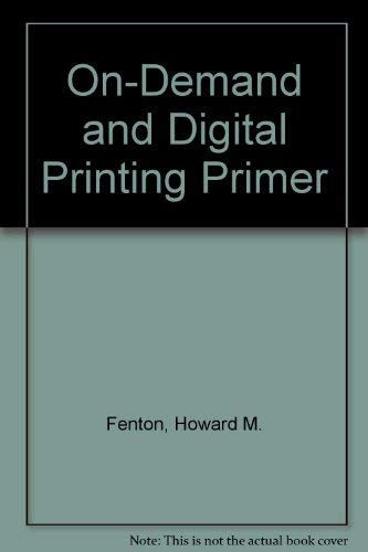9780883622193: On-Demand and Digital Printing Primer
