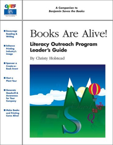 9780883623558: Books Are Alive! Literacy Outreach Program Leader's Guide