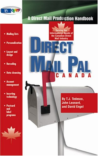 9780883625439: Direct Mail Pal--Canada: A Direct Mail Production Handbook Serving the Informational Needs of the Canadian Direct Mail Industry
