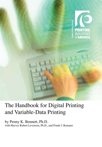 9780883625644: The Handbook for Digital Printing and Variable-Data Printing