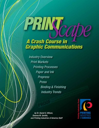 9780883626245: PrintScape: A Crash Course in Graphic Communications (Book and DVD)