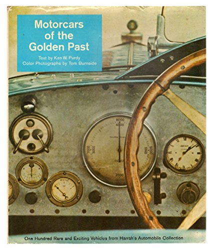 9780883651384: Motorcars of the golden past: One hundred rare and exciting vehicles from Harrah's automobile collection