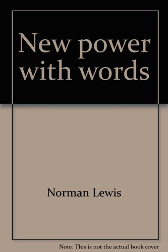 9780883651957: New power with words