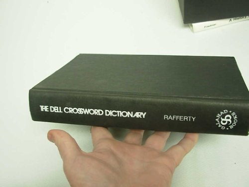 9780883652695: The Dell crossword dictionary