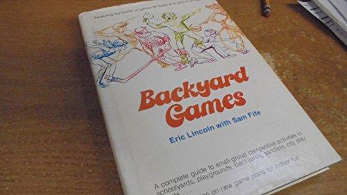Backyard games: Lincoln, Eric