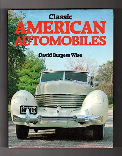 9780883654545: Classic American automobiles