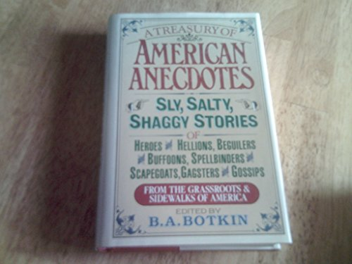 9780883656167: A Treasury of American Anecdotes