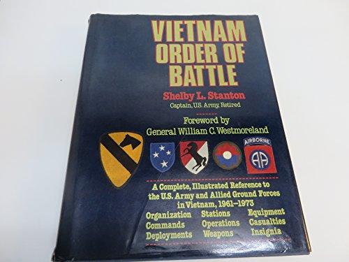 9780883657096: Vietnam Order of Battle Stanton Gh