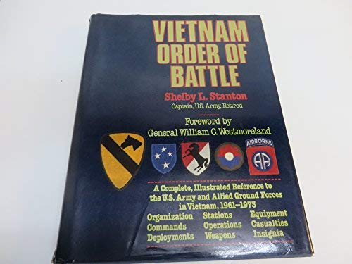 Vietnam Order of Battle (0883657090) by Shelby L. Stanton