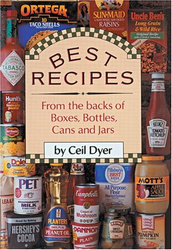 9780883657379: Best Recipes from the Backs of Boxes, Bottles, Cans, and Jars