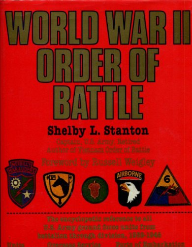 World War II Order of Battle: Stanton, Shelby L.
