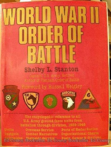 World War II Order of Battle: Stanton, Shelby L.