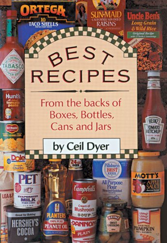 9780883658277: Best Recipes from the Backs of Boxes, Bottles, Cans and Jars