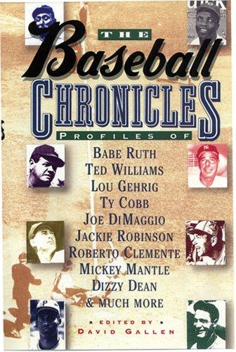 9780883658512: The Baseball Chronicles