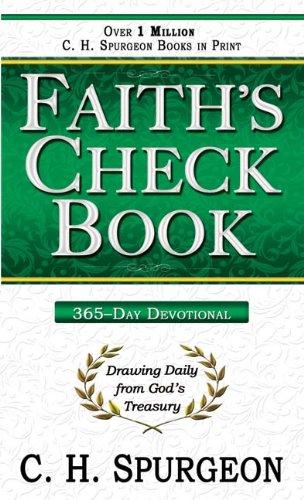 9780883682432: Faith's Check Book
