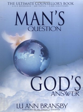 9780883685716: Man's Question, God's Answer