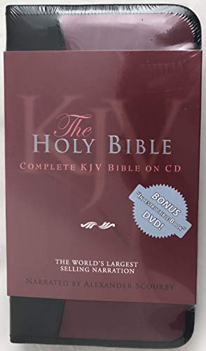 KJV Complete Bible-Nylon Zip (60 CD + 1 DVD): SCOURBY ALEXANDER