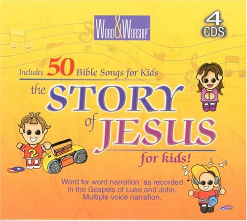 Disc-CEV Story Of Jesus For Kids (4 CD): MULTIPLE VOICES