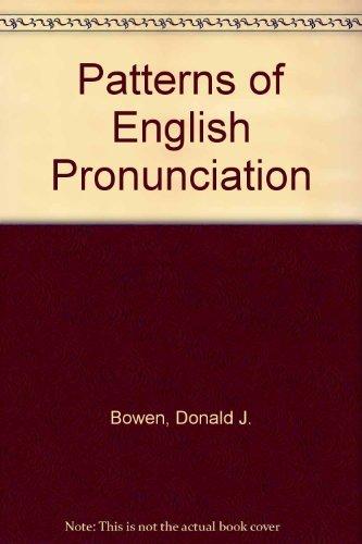 9780883770443: Patterns of English Pronunciation