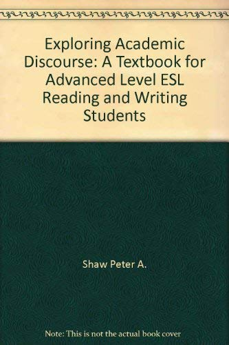 academic discourse essays Sume an ostensive definition of academic discourse: it is the discourse that   about falling asleep while writing an assigned essay and waking up on a greek.