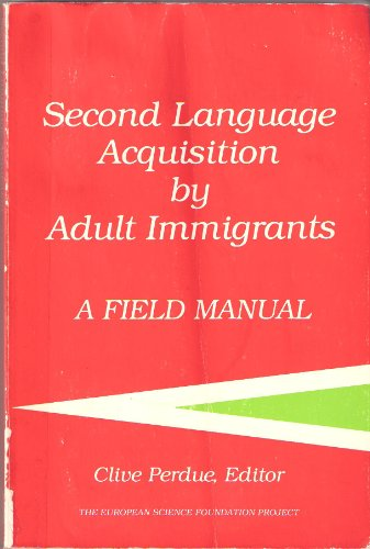 9780883772812: Title: Second language acquisition by adult immigrants A