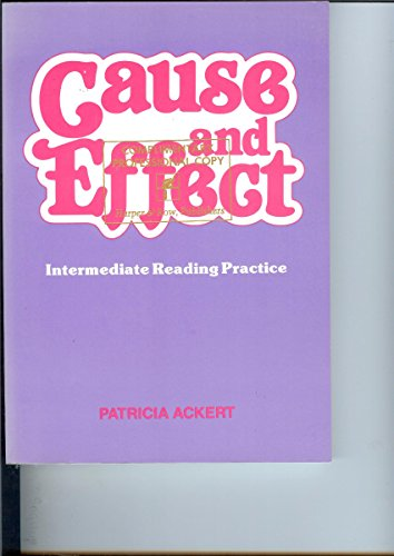 9780883773215: Cause and Effect: Immediate Reading Practice