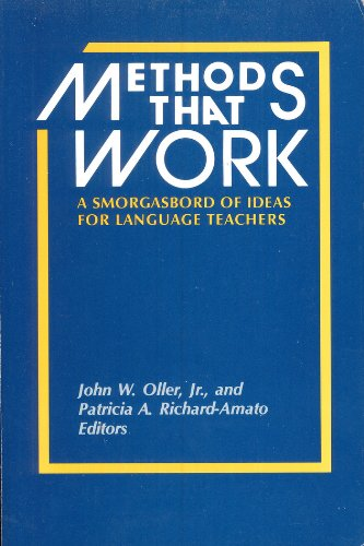 9780883773307: Methods That Work: Ideas for Literacy and Language Teachers