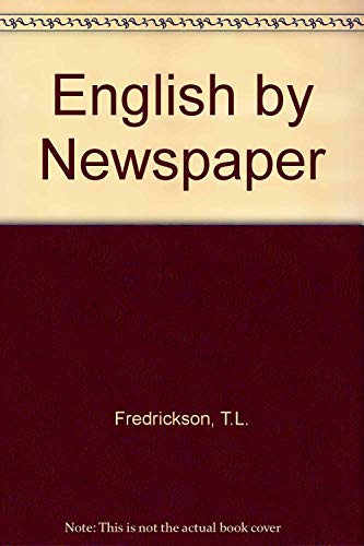 9780883773758: English by Newspaper