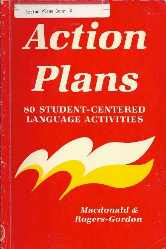9780883773857: Action Plans: 80 Student-Centered Language Activities