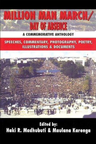 9780883781883: Million Man March/Day of Absence: A Commemorative Anthology, Speeches, Commentary, Photography, Poetry, Illustrations & Documents