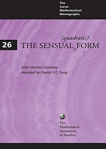 9780883850404: The Sensual Quadratic Form (Carus Mathematical Monographs)