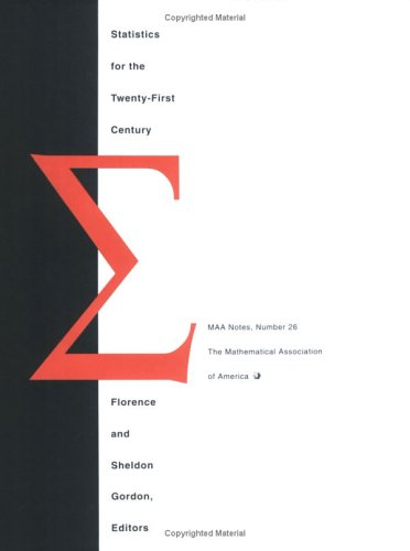 9780883850787: Statistics for the Twenty-First Century (M A A NOTES)