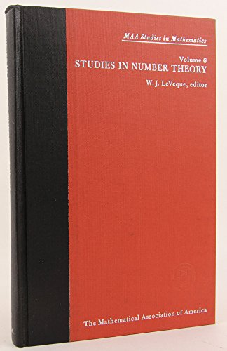 Studies in Number Theory