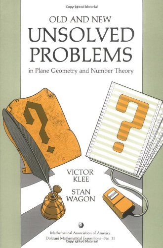 9780883853153: Old and New Unsolved Problems in Plane Geometry and Number Theory (Dolciani Mathematical Expositions)