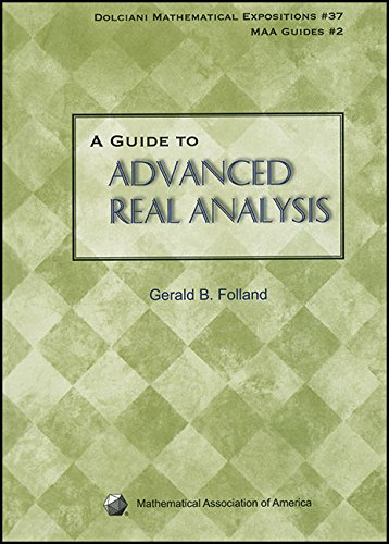 9780883853436: A Guide to Advanced Real Analysis