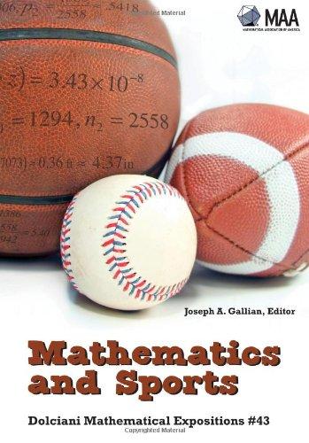 9780883853498: Mathematics and Sports (Dolciani Mathematical Expositions)