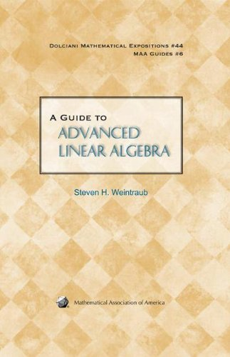 9780883853511: A Guide to Advanced Linear Algebra (Dolciani Mathematical Expositions)