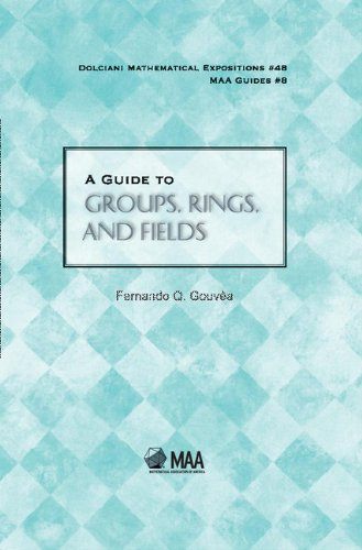 9780883853559: A Guide to Groups, Rings, and Fields Hardback (Dolciani Mathematical Expositions)