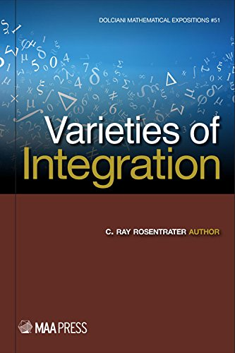 9780883853597: Varieties of Integration (Dolciani Mathematical Expositions)