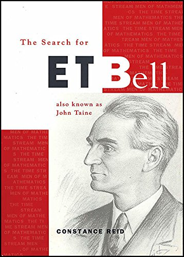 9780883855089: The Search for E. T. Bell: Also Known as John Taine