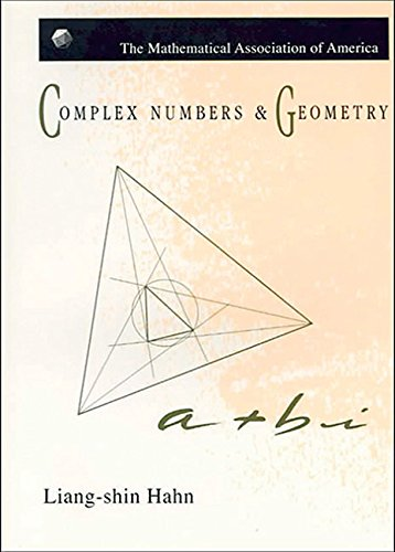 9780883855102: Complex Numbers and Geometry (Mathematical Association of America Textbooks)