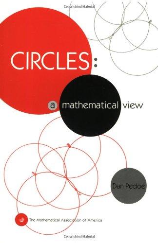 9780883855188: Circles: A Mathematical View (Spectrum)